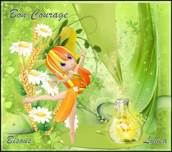 Bon courage bisous de Lynea
