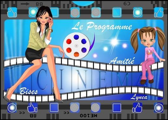 cinema le programme amitié bises de Lynea
