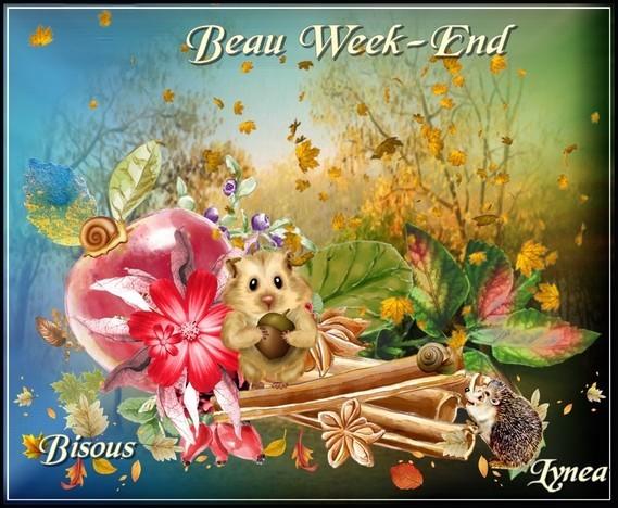 Beau week-end bisous de Lynea