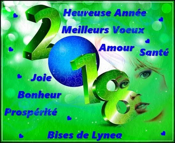 2018 Heureuse année de Lynea