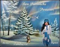 BON DIMANCHE DOUCEUR TENDRESSE BISOUS DE LYNEA