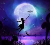 bleue bonne nuit