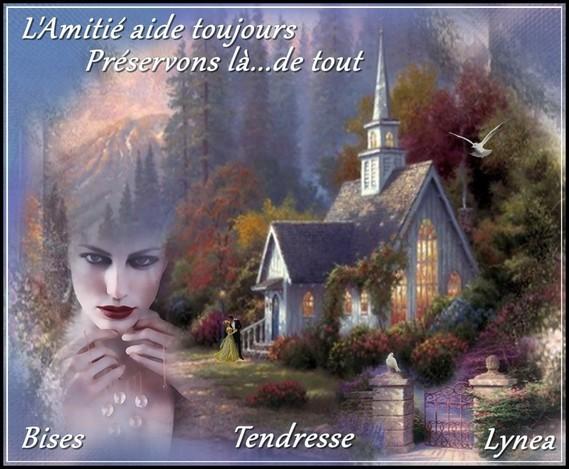 L'amitié aide toujours préservons là de tout bises tendresse de Lynea