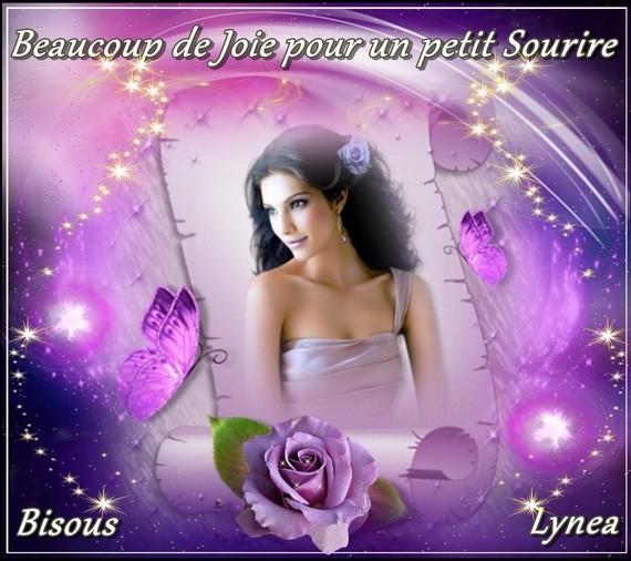 Joie pour un sourire bisous de Lynea