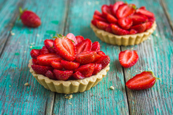 Mini-tartes-fraises