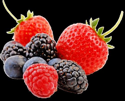 fraises mures