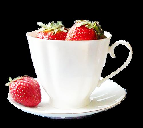 Tasse de fraises