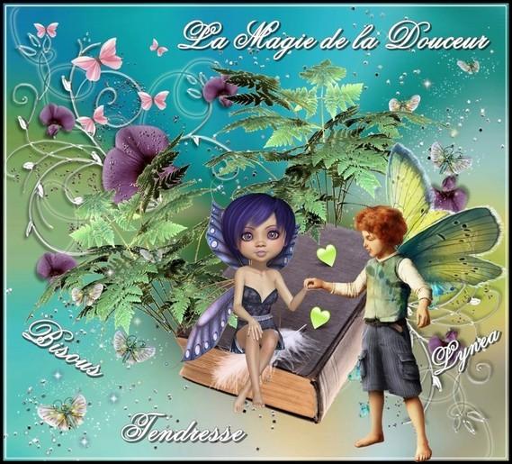 La Magie de la Douceur tendresse bisous de Lynea