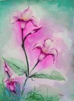 fleurs pastel