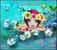 Bon Dimanche bisous de Lynea