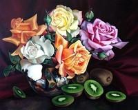 fleurs fruits