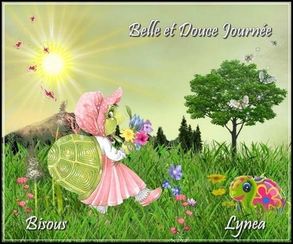 Belle et douce journée bisous de Lynea