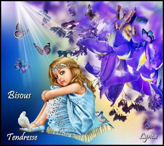 Bisous tendresse de Lynea