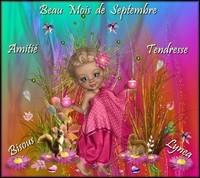 Beau mois de septembre bisous de Lynea