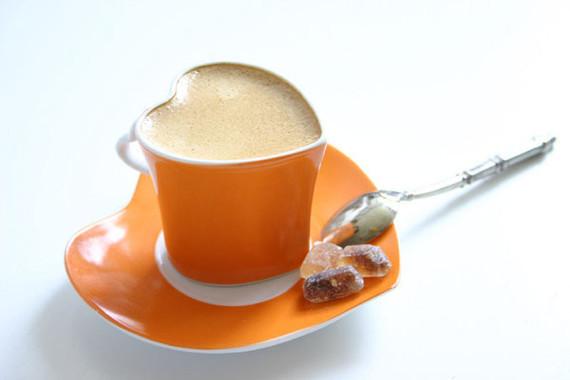 tasse de café coeur