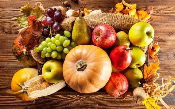 automne fruits