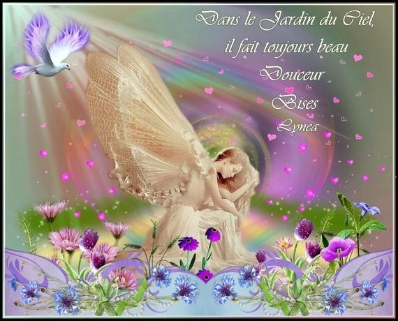 Dans le Jardin du Ciel il fait toujours beau - Douceur bises de Lynea