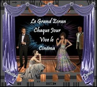 GRAND ECRAN CHAQUE JOUR VIVE LE CINEMA AMITIE DE LYNEA