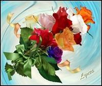 roses de Lynea-