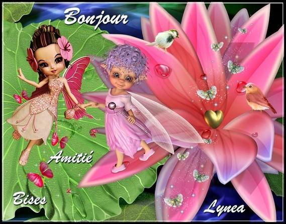 Bonjour amitié bises de Lynea