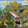 Ën route - la ballade de l'Amitié Train- Douceur -Bisous de Lynea