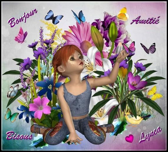 Bonjour amitié bisous Lynea