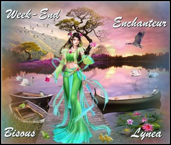 Week-end enchanteur bisous de Lynea