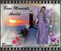 Bons moments bisous amitié de Lynea