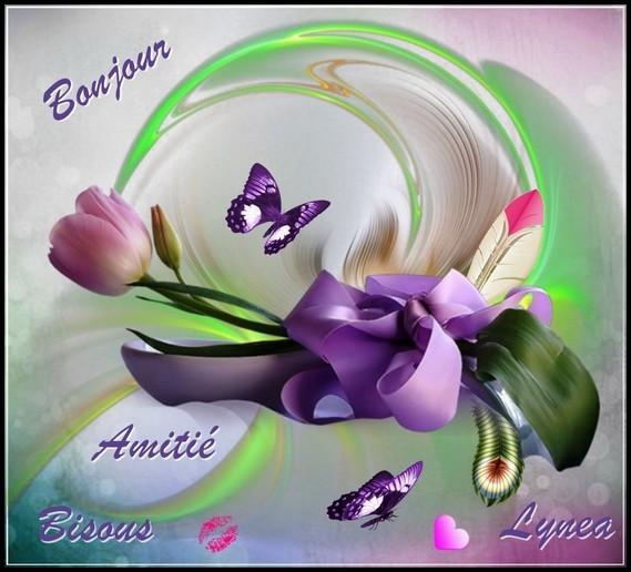 Bonjour amitié bisous de Lynea
