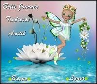 Belle journée tendresse amitié bisous Lynea