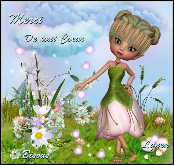 Merci de tout coeur bisous Lynea