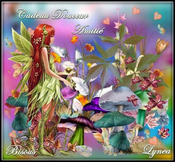 Cadeau Douceur amitié bisous de Lynea