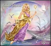 Belle soirée tendresse bisous Lynea