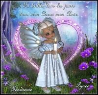 Tu brilles dans mon Coeur mon amie Tendresse Lynea