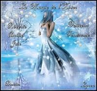La Magie de l'Hiver bisous Lynea