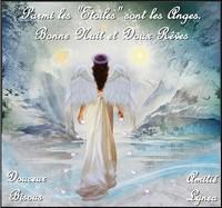 Parmii les Etoiles sont les Anges- Bonne nuit et doux rêves-bisous Lynea