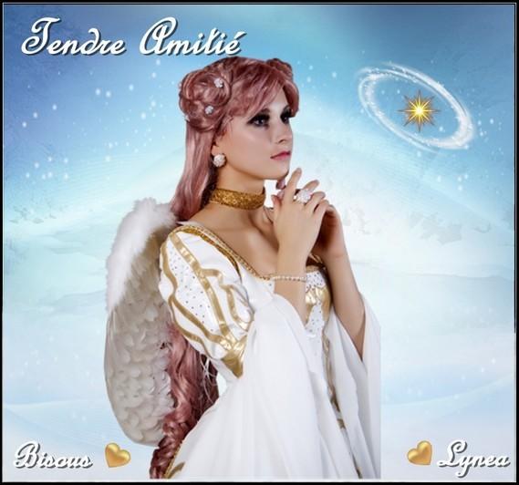 Amitié tendre bisous de Lynea