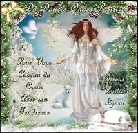 De douces ondes positives pour vous cadeau du coeur amitié bisous tendresse Lynea h