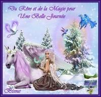 Du rêve et de la Magie pour une belle Journée bisous Lynea