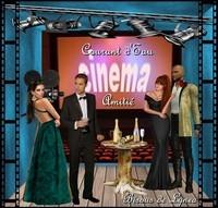 Cinéma de Courant d'eau aùitié bisous de Lynea