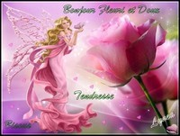 Bonjour doux et fleuri bisous tendresse Lynea