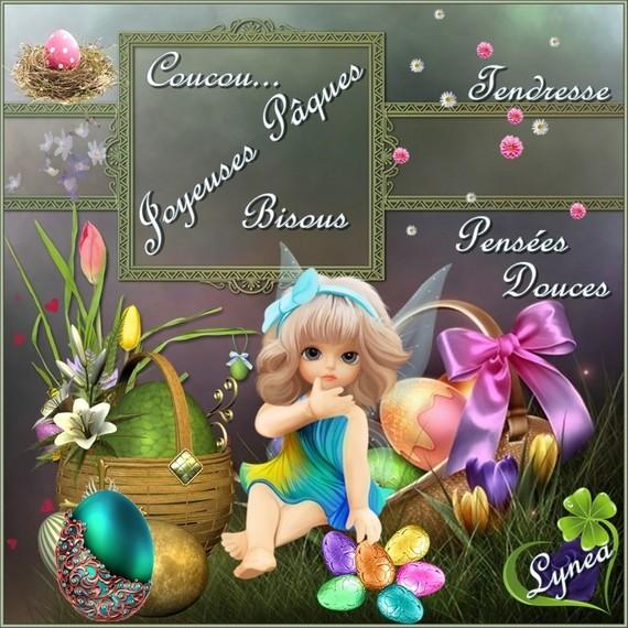 Joyeuses Pâques bisous de Lynea