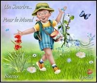 Sourire pour le moral bisous de Lynea