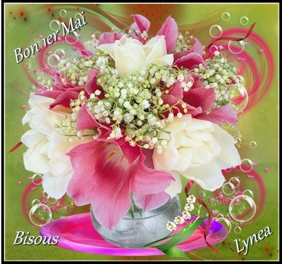 Bon 1er mai bisous de Lynea