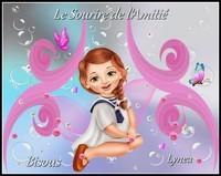 Le sourire de l'amitié bisous de Lynea