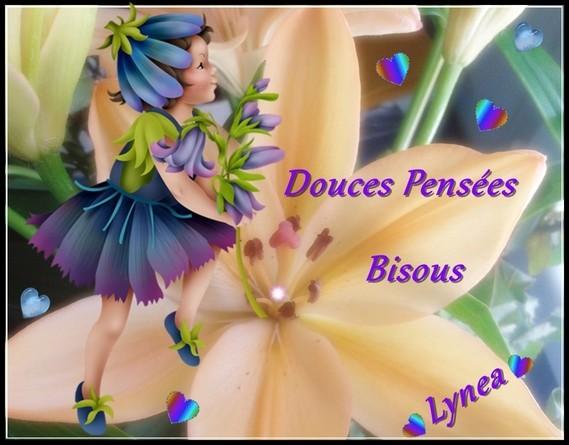 Douces Pensées Bisous de Lynea