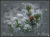 Bonne année-bonne santé-bisous Lynea