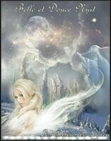 Belle et douce nuit-les bisous de Lynea
