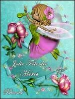 Jolie fête des Mères bisous de Lynea