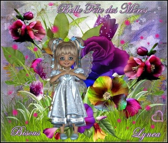 Belle Fête des Mères bisous de Lynea